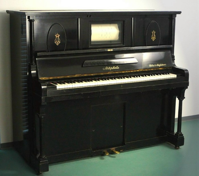 Picture of the Pianola