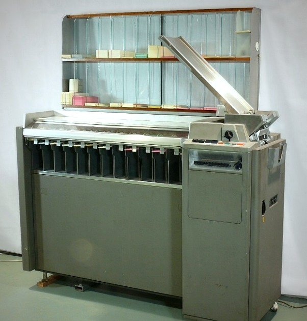 IBM 083 punch card sorter