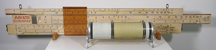 Slide rule (slipstick) and Cylindrical slide rule