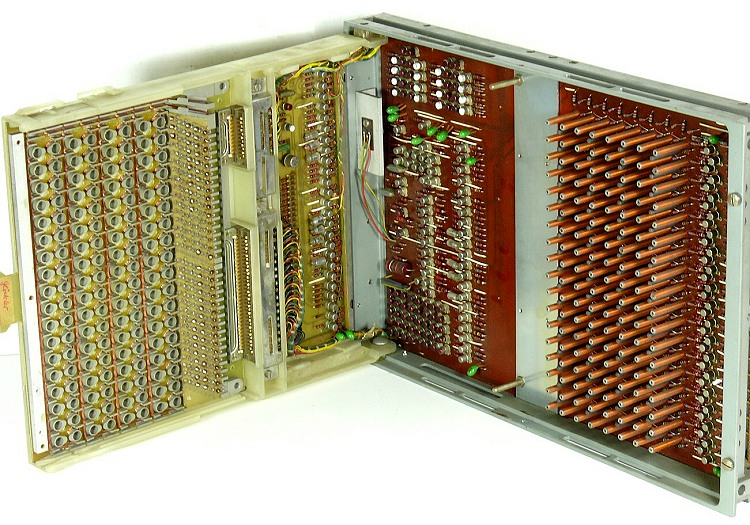 A 'magnetic stick memory' made by nixdorf