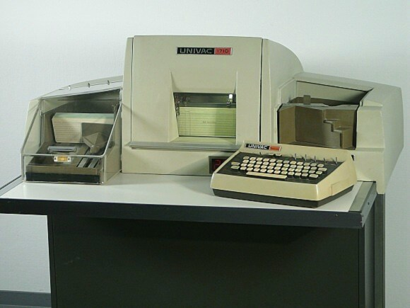 UNIVAC 1710 Verifying Interpreting Punch