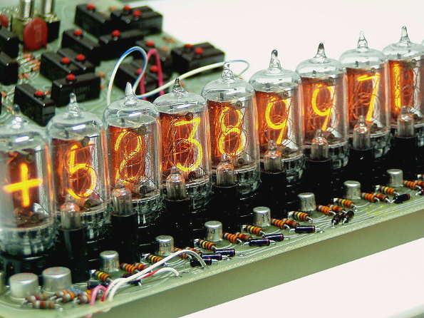 Wang Nixie tubes