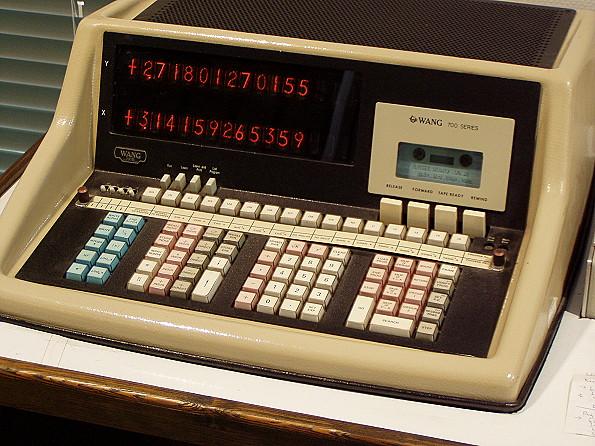 Wang Series 700 Programmable Desktop Calculator